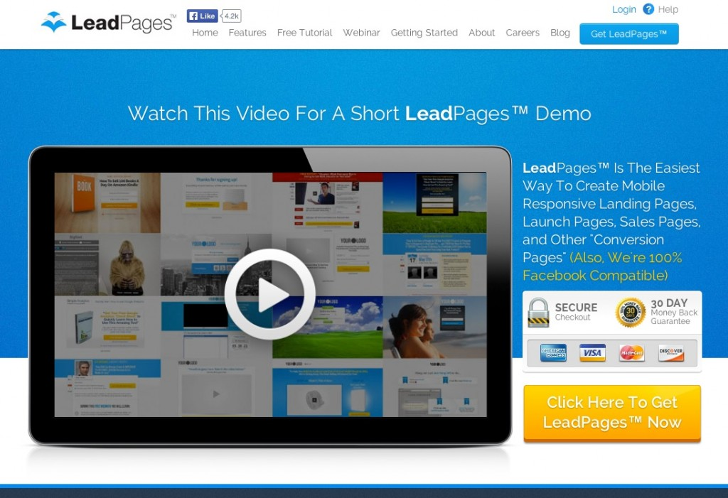 leadpages - Sales Funnel Videos