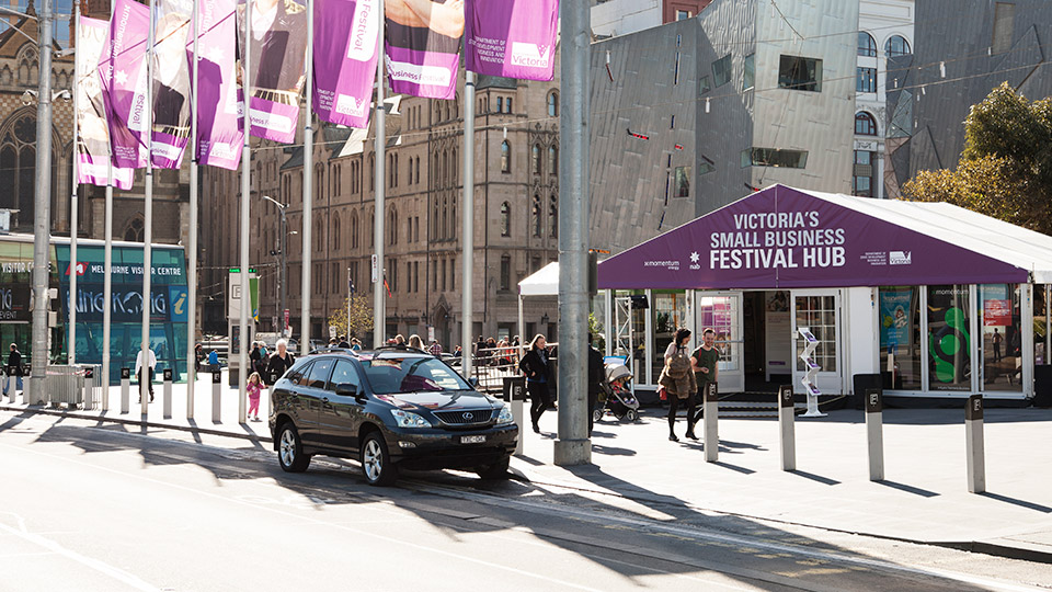 Festival-hub-Federation Square -Video Marketing Seminar