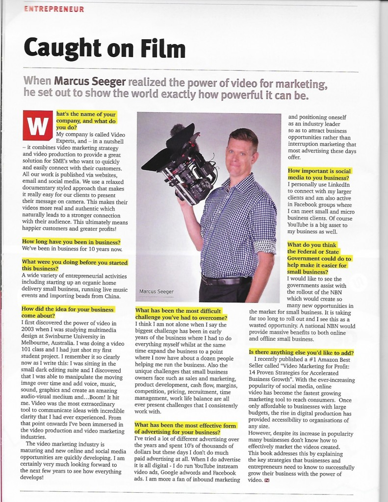 Why video content is crucial for marketing a small business